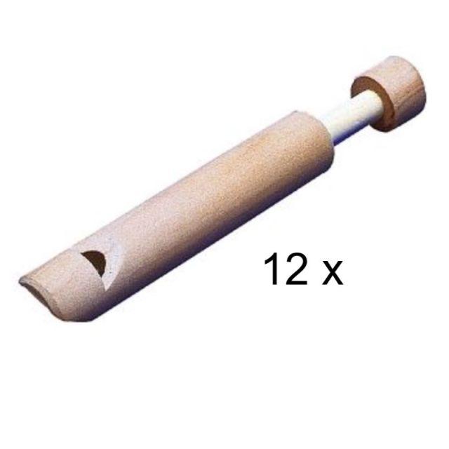 Fluit met zuiger set van 12