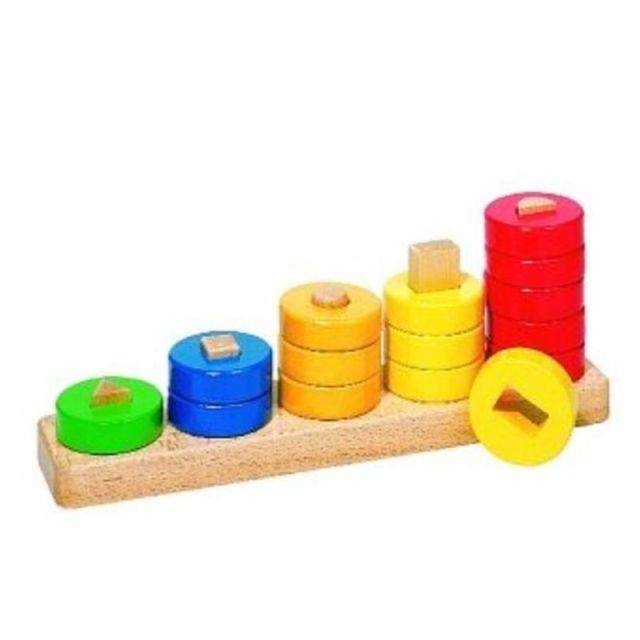 Kleuren- en vormensorteerspel Leren tellen