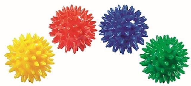 Set van 4 pom-pon ballen
