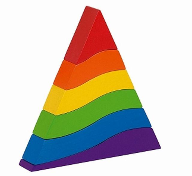 Stapeltoren piramide