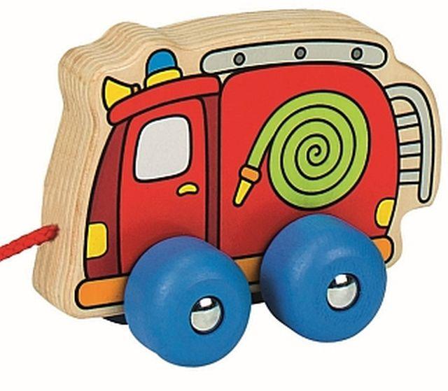 Trekwagen brandweerwagen