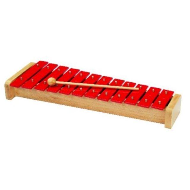 Xylofoon metaal 38,6 cm.