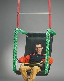Maxi zitschommel voor gehandicapten,incl ophanging