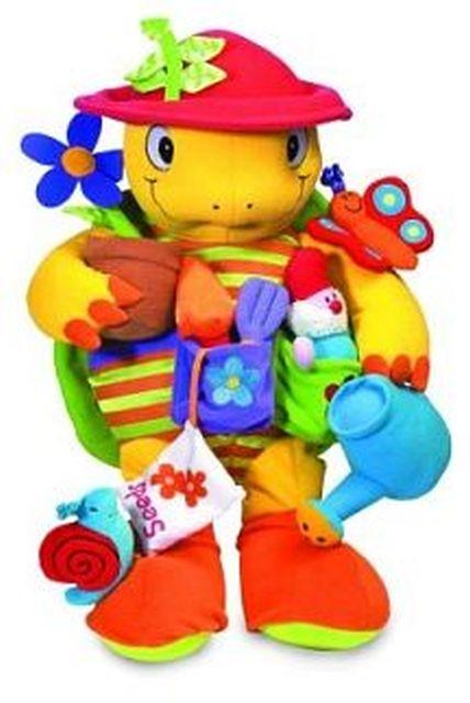 Daisy de actieve schildpad 0 tot 6m en ouder