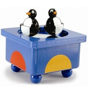 Muziekdoos pinguins entertainer
