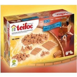 Teifoc diverse bouwstenen 104 stuks