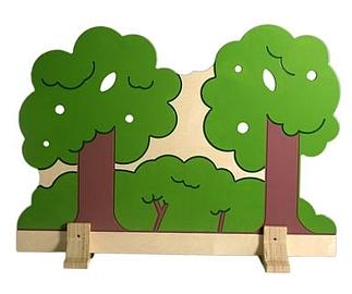 Scheidingshek bomen