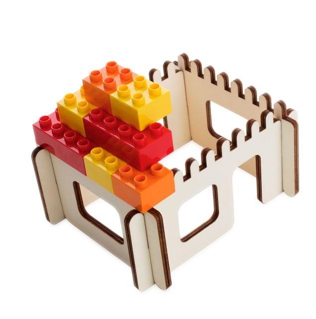 3D Puzzel  voor bouwstenen huis