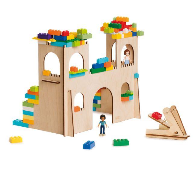 3D Puzzel  voor bouwstenen Kasteel