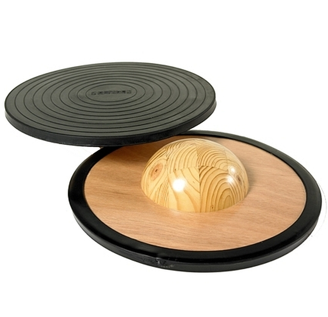 Balancing board wood black