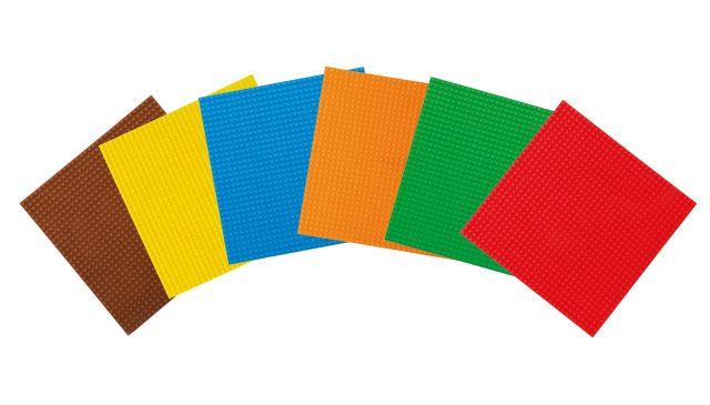 Basis Bouwplaten Groot voor bouwstenen Basic