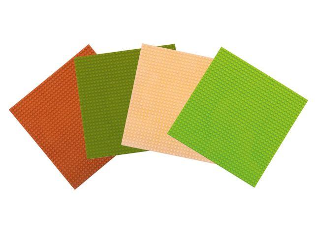 Basis Bouwplaten Groot voor bouwstenen Natuur tinten