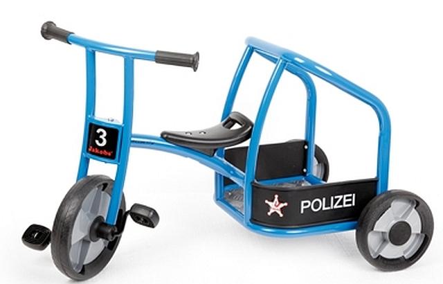 Driewieler politie activ