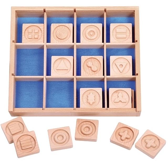 Houten box voor pantastino
