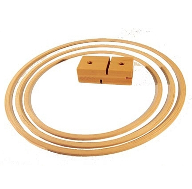 houten gymhoepel 60 cm