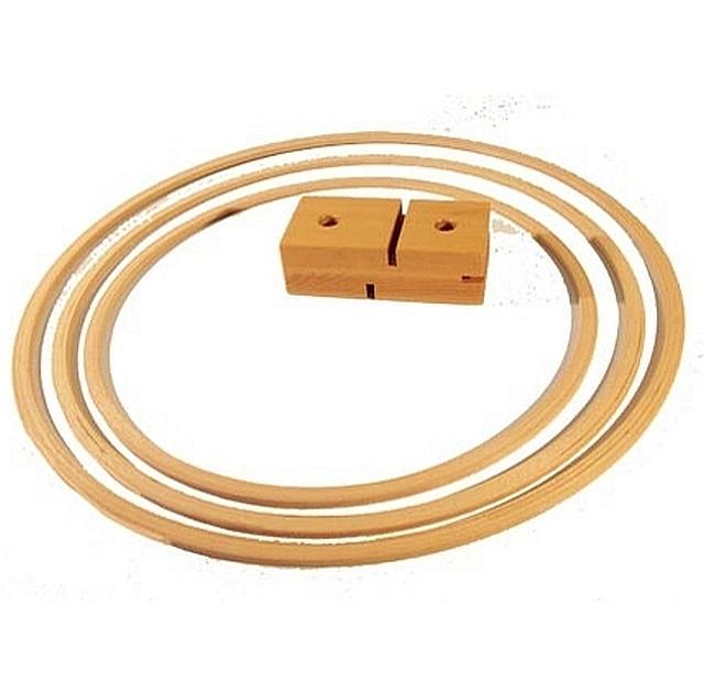 houten gymhoepel 70 cm