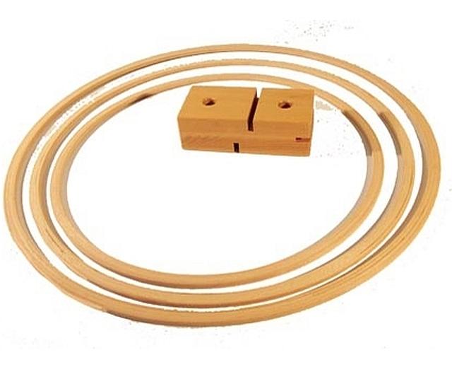 houten gymhoepel 80 cm