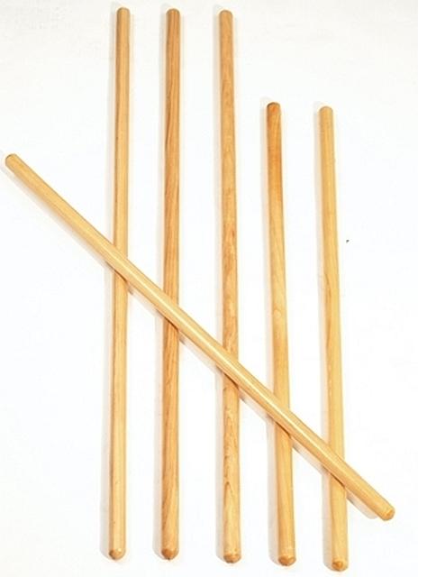 houten gymstok 100 cm