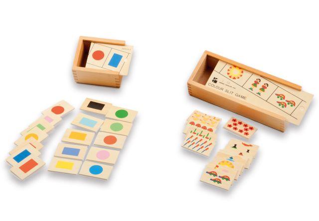 Kleuren sorteer spel