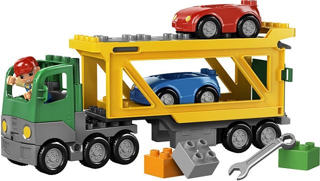 Lego duplo autotransporter