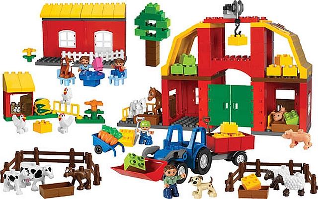 Lego duplo boerderij set