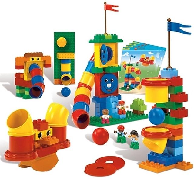 Lego duplo buizen om mee te experimenteren