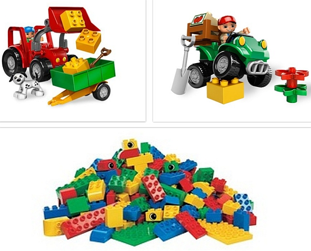 Lego duplo grote tractor set