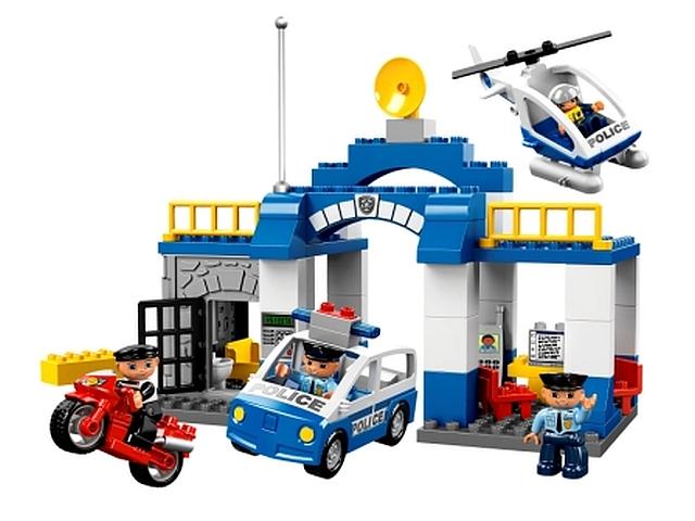 Lego duplo politiebureau