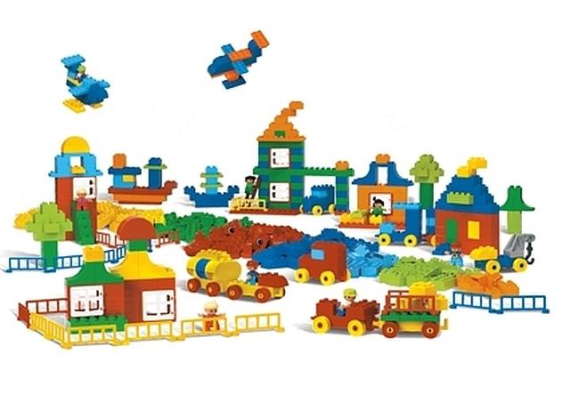 Lego duplo reuzen grote set basiselementen
