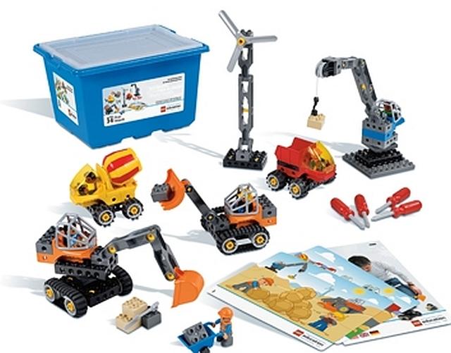 lego duplo technische machines
