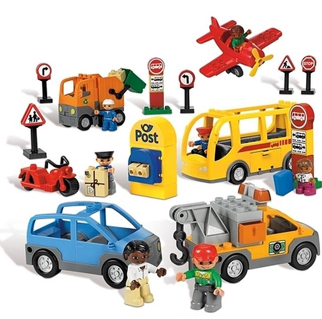 Lego duplo transport en verkeer