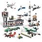 Lego ruimtevaart en vliegtuigen set