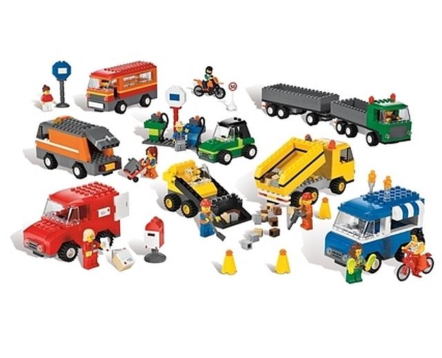 Lego voertuigen set