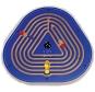 Muurpaneel labyrinth