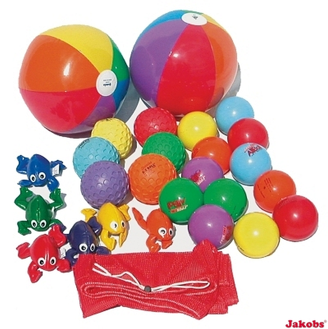 Parachute set met toebehoren