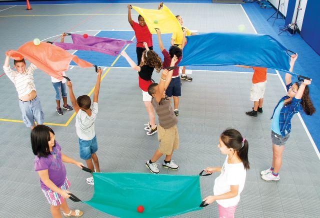 Parachute set voor 2 personen