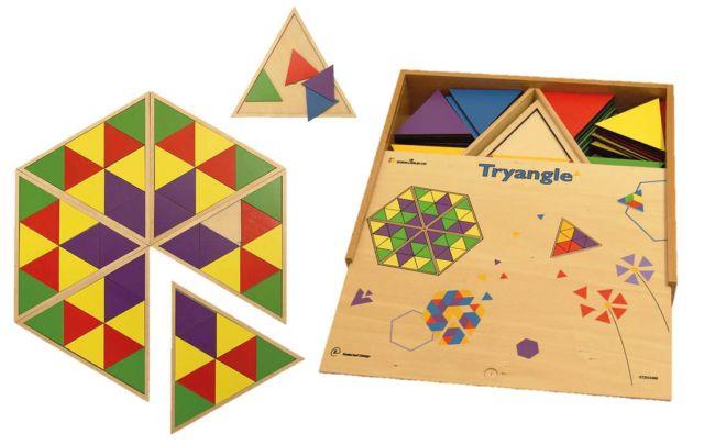 Reuze Triangel spel