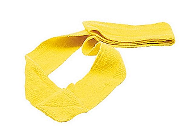Set van 10 partijlinten geel