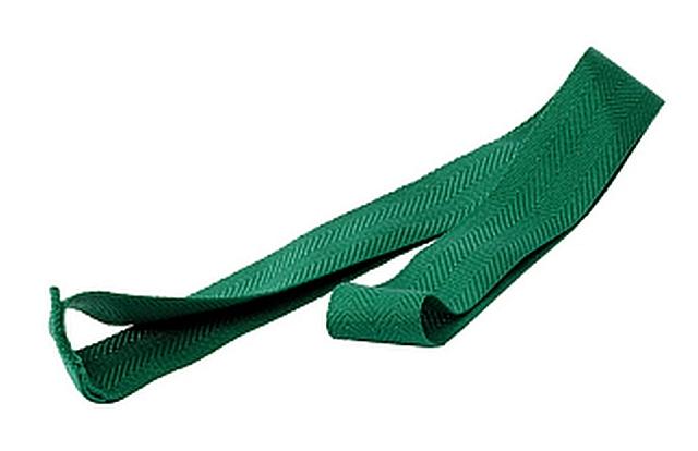 Set van 10 partijlinten groen