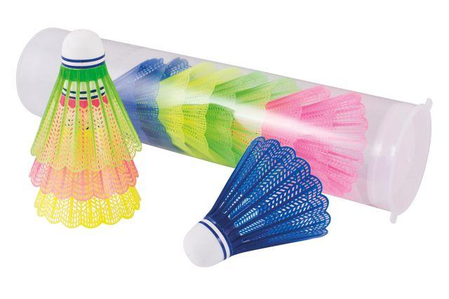 Set van 12 badminton shuttles