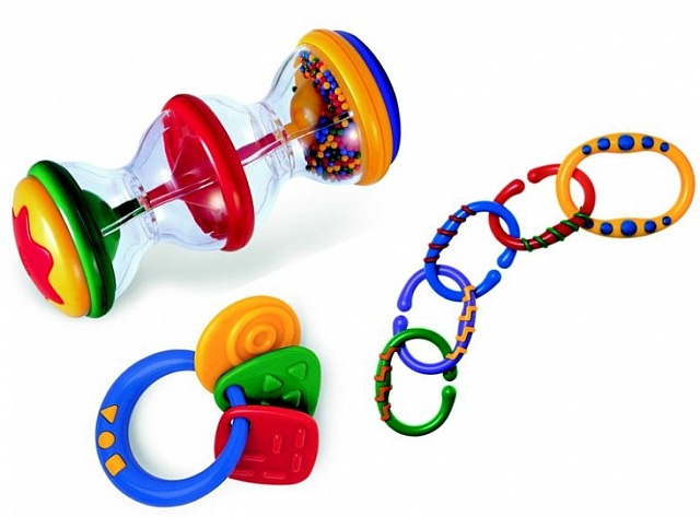 Tolo Rattle activity set