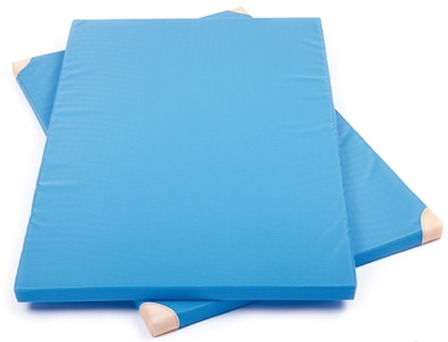 Turnmat standaard blauw