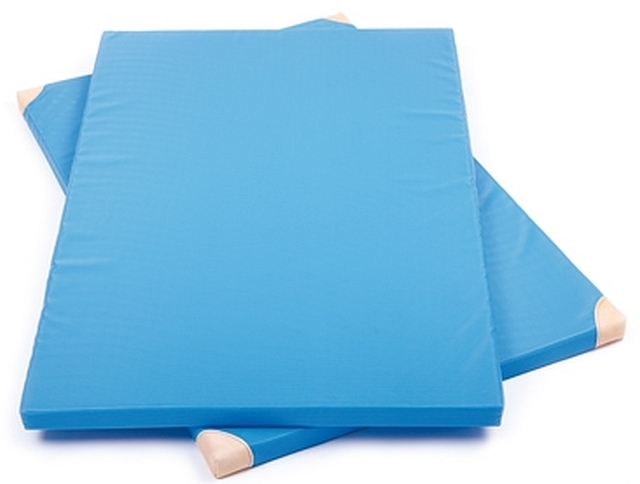 Turnmat standaard blauw XL extra dik