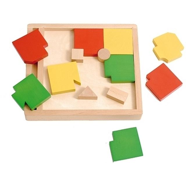 Vario wooden puzzle