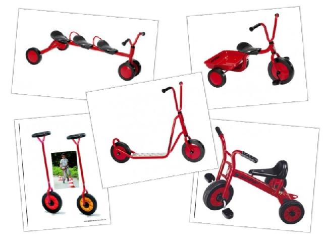 Voordeelpakket van 4 bijzondere fietsen