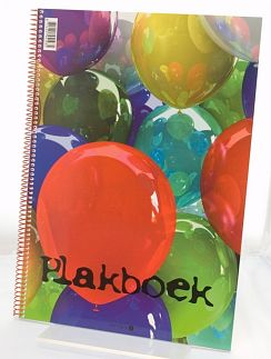 Plakboek ballon 23 x 33 10x