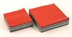 Zijdevloeipapier 16 x 16; 1000 x ass.