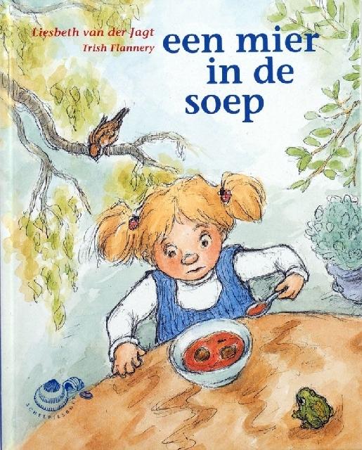 Een mier in de soep, schelpjesboek