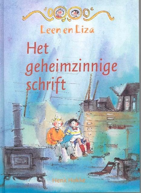 Het geheimzinnige schrift, Leen en Liza