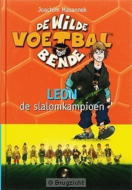 Luisterboek de wilde voetbalbende leon de Slalomkampioen